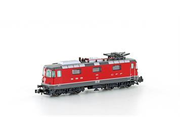 Hobbytrain 3023 E-Lok Re 4/4 II SBB rot mit Halogenscheinwerfern, Ep.V