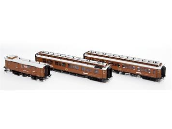 Hobbytrain H44017 CIWL Wien-Nizza-Cannes Express Set H0 3-teilig (AC/Wechselstrom)