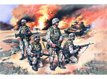 ICM 35201 US Elite Forces in Iraq 1:35