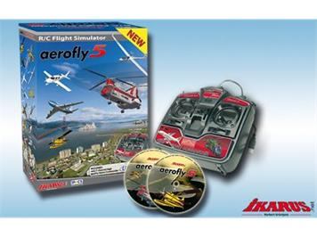 Ikarus Flugsimulator Aerofly 5 PC GC Mode 2/4 inkl. Game-Commander