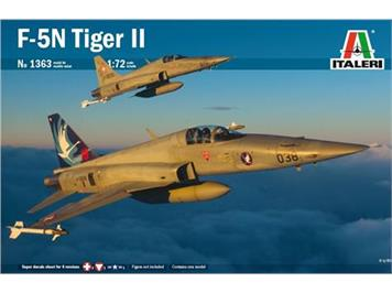 Italeri 1363 Tiger F-5E Swiss Air Force