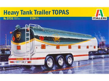 "Italeri 3731 Heavy Tank Trailer Topas ""BP"" 1:24"