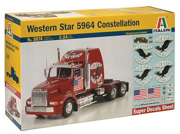 Italeri 3874 Western Star 5964 Constellation 1:24