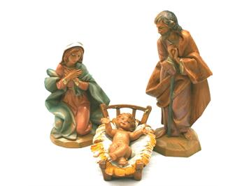 "Kahlert 40652 Krippenfiguren ""Heilige Familie"""