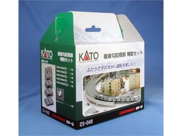 Kato 23-049 Brückenpfeilerset 2-gl. auf/ab 10teilig (77308)