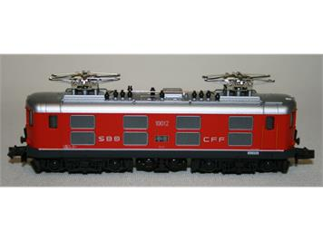 Kato SBB Re 4/4 I Pendelzugversion Nr. 10012 rot