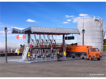 Kibri 39834 MIRO Tankwagen SCANIA/Abfüllstation
