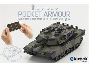 Kyosho 69050C EP ABRAMS Camouflage mit i-Driver System 1:60