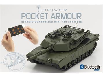 Kyosho 69050G EP ABRAMS Green mit i-Driver System 1:60