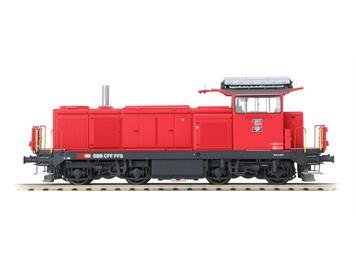 L.S. Models 17066 Bm 4/4 18437 feuerrot neues Logo DC