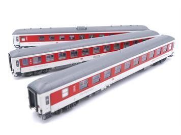 """L.S. Models 49054 CNL 3er Set Bpm 40478 """"Pegasus """"Chur - Amsterdam"""" HO / Sonderserie"""