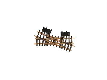 LGB 12260 elektrische Doppelkreuzungsweiche, 22,5°