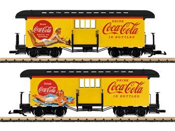 LGB 36847 Coca-Cola® Gepäckwagen