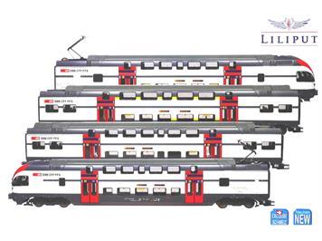 Liliput 133925S SBB Triebzug Typ RABe 511.0 Regio 4-teilig DC DCC-Digital mit Sound HO