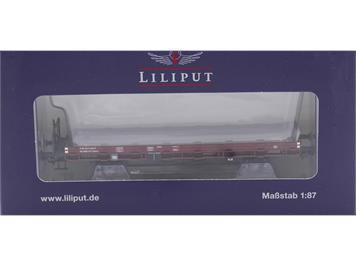 Liliput 235044 SBB Flachwagen Kbkm mit Holz