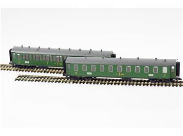 Liliput 330511 SBB Personenwagen-Set (ex. GB) 2teilig
