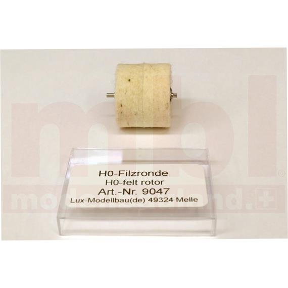 LUX 9047 Filz-Schleifronde, Ersatzteil, H0 (1:87)