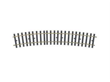 Märklin 1 59072 Gleis gebogen, Radius 1.176 mm. 22,5°. (H1040-2)