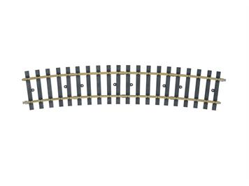 Märklin 1 59074 gebogenes Gleis, Radius 1.550 mm. 15°. (H1100)