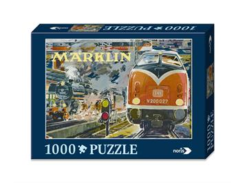 Märklin 15964 Nostalgie Puzzle Bahnhof 1000teilig