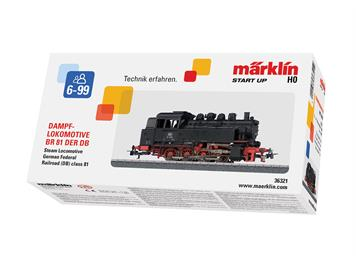 Märklin 36321 Start up - Tenderlokomotive BR 81 DB, H0