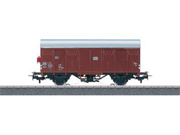 Märklin 4411 Start up - Gedeckter Güterwagen DB mit beleuchteter Schlusslaterne, H0