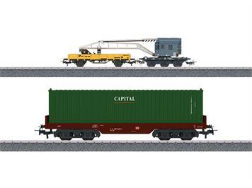 "Märklin 44452 Wagenset ""Containerverladung"", H0"