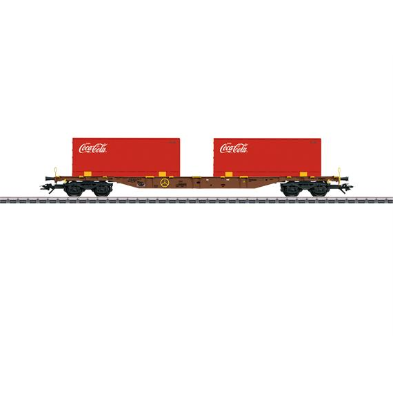 Märklin 47434 Contrainertragwagen im Coca-Cola® Design.