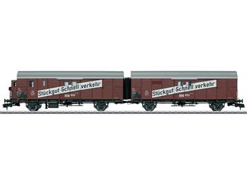 Märklin 58249 Güterwagenpaar Leig-Einheit Gllh III DB