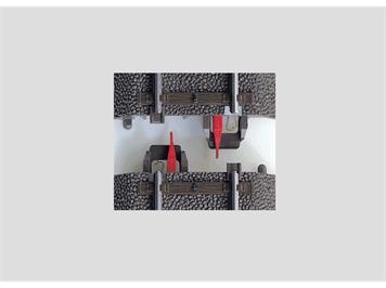 Märklin 74030 C-Gleis Mittelleiter-Isolierung (8 Stück), H0 (1:87)