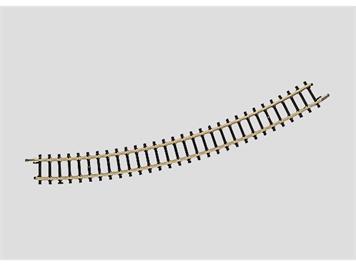 Märklin 8531 gebogenes Gleis Radius 220 mm. 30°, Spur Z