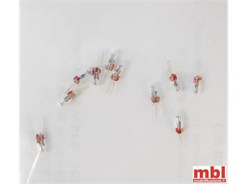 Märklin E610080 Glühlämpchen 19V hell T1 Bi-Pin (VP: 10)