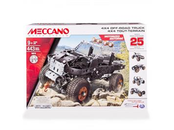 Meccano TECH 16212 25-Multimodell-Set 4x4 Truck 443 Teile