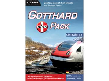 Microsoft 4157 TrainSimulator Gotthard PLUS Pack
