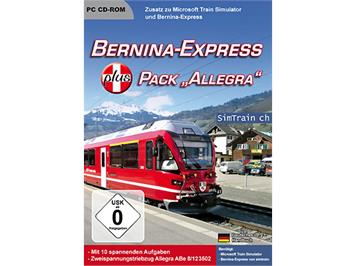 "Microsoft 4177 TrainSimulator Bernina PLUS Pack ""Allegra"""