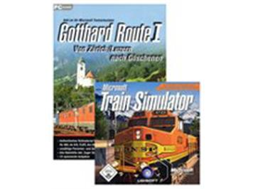 Microsoft 5041 TrainSimulator Grundsoftware & Gotthard Route 1 (Set)