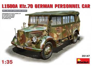 MiniArt 35147 L1500A Kfz. 70 German Personnel Car