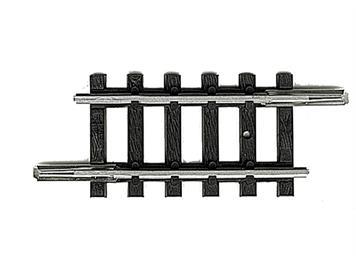 Minitrix 14908 gerades Gleis 27,9 mm