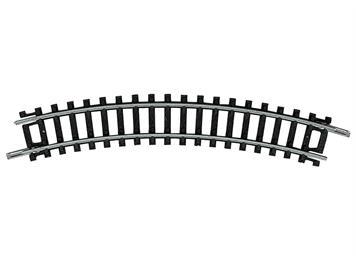 Minitrix 14912 gebogenes Gleis R1 30°