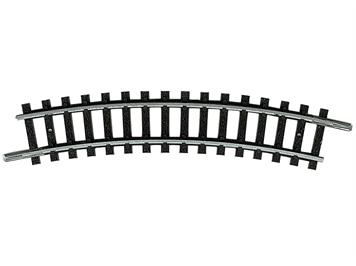 Minitrix 14914 gebogenes Gleis R 1 (194,6 mm) - 24°, N