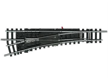 Minitrix 14938 Links-Weiche 15° polarisiert, N