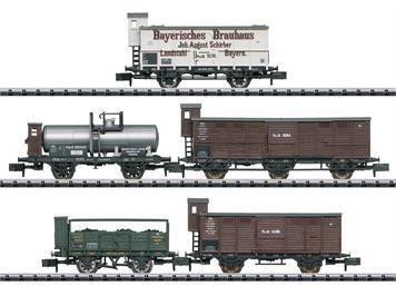 "Minitrix 15284 Güterwagen-Set ""Pfalz"", N"