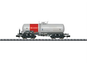 """Minitrix 15659 Säurekesselwagen DB """"Schenker Rail"""" N"""