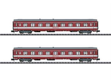 """Minitrix 15951 Ergänzungswagen-Set """"Le Capitole"""" SNCF (2), N"""
