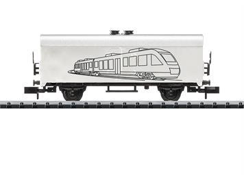 Minitrix 18086 Hobby-Kühlwagen zum Ausmalen N