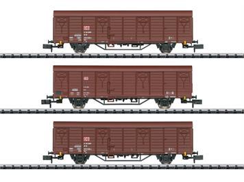 Minitrix 18901 Güterwagen-Set Gbs 258 DB AG