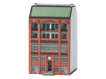 Minitrix 66306 Bausatz Stadthaus Jugendstil N