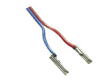 Minitrix 66520 Schienenverbinder 2-polig mit Doppeldraht-Litzen, N
