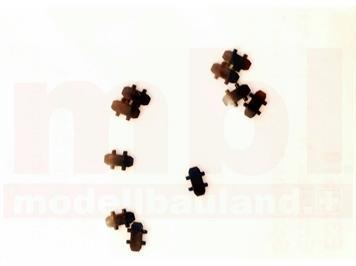 Minitrix E329618 Kupplung für ICE (Art.Nr. 12793), 10 Stück, N (1:160)