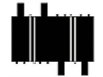 Ninco 10104 2 x 1/4 Gerade 10 cm
